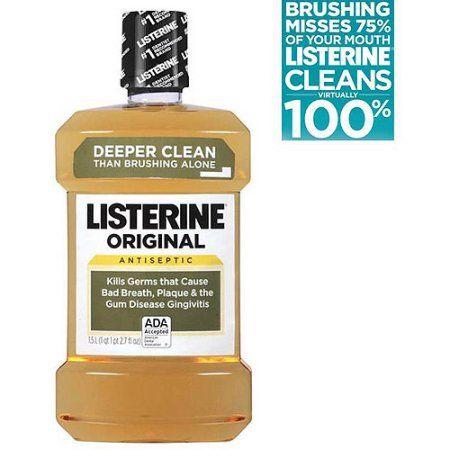 Listerine Original Antiseptic Mouthwash 1.5 L, Multicolor