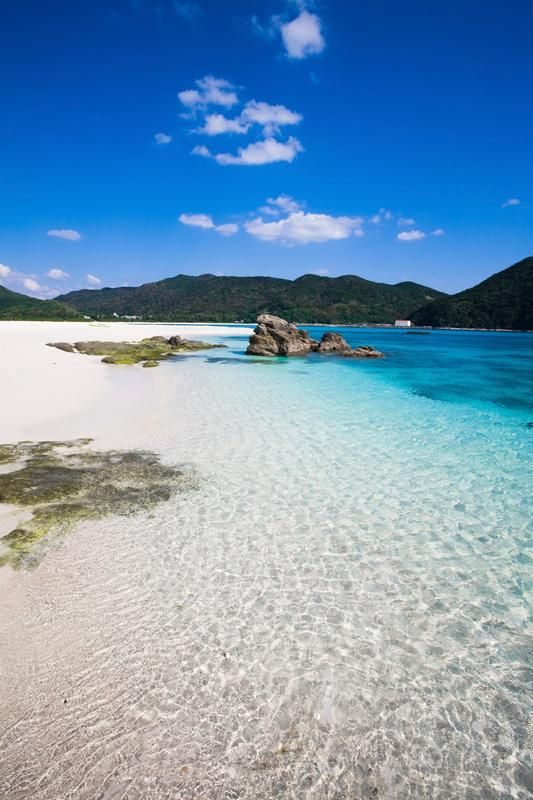 Go tropical in the historic Okinawa, Japan for your honeymoon.