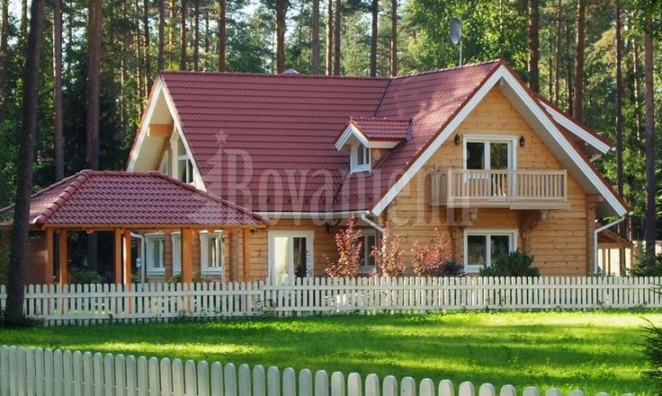 Blockhäuser aus Finnland ; Finnisches Blockhaus & Finnisches Naturstammhaus