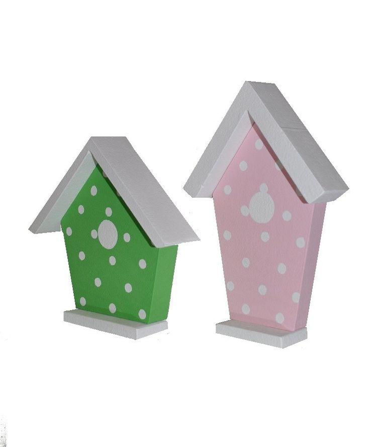 Domki dla ptaków - karmniki