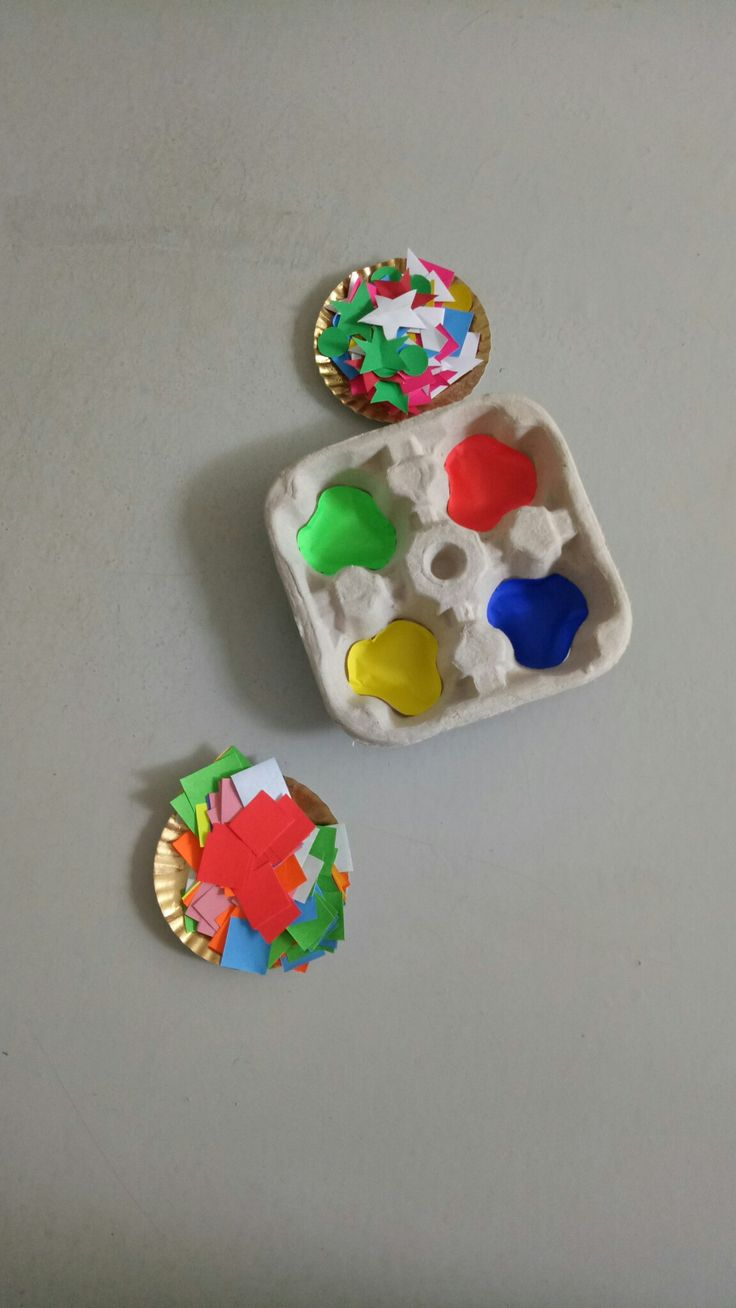 Colors sorting activities #school #activities #islamic #kindergarten #alhaamidiyah #jagakarsa #southjakarta #indonesia