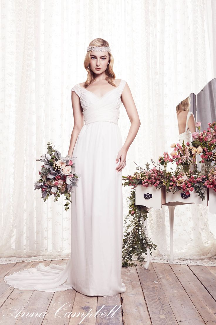 Anna campbell freja gown for the free spirited bride for Anna campbell wedding dress for sale
