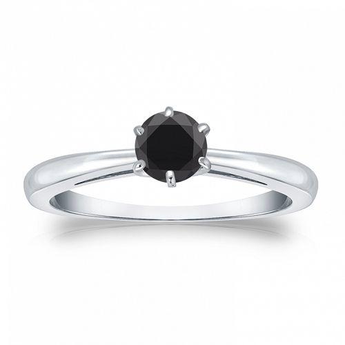 Weißgold ring verlobung  Die besten 20+ Schwarzer diamant verlobung Ideen auf Pinterest ...