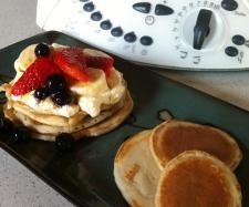Jamie Oliver's Pear Pancakes | Official Thermomix Recipe Community