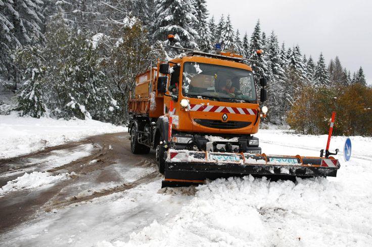 #Neige. Plus que cinq départements en alerte orange