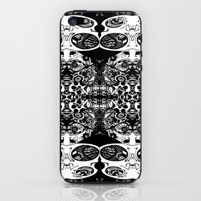 Psycho Egg Man iPhone & iPod Skin by Joe Pansa - $15.00