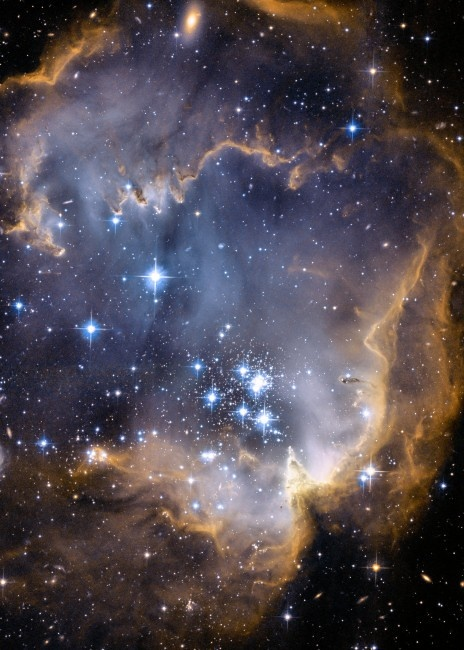 Infant stars from the Hubble Telescope, how amazing is this