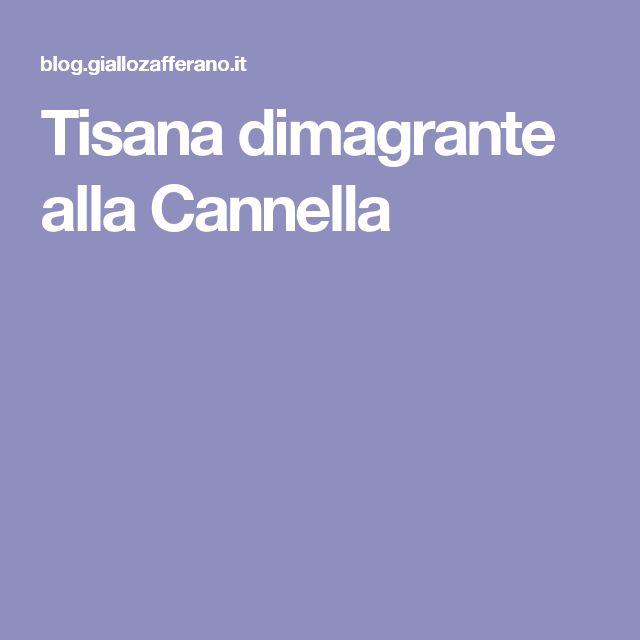 Tisana dimagrante alla Cannella