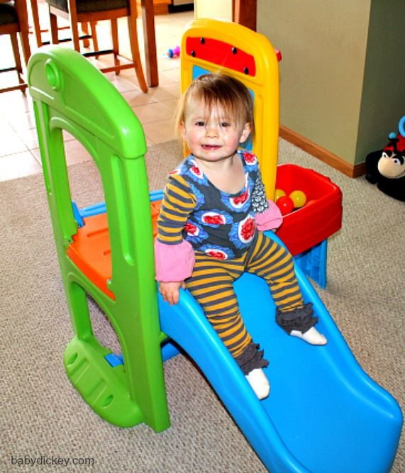 Outside Play Toys For Toddlers : Step s play ball fun climber with a drop pit