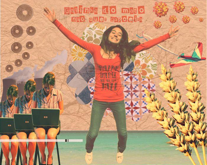 Beatriz Pires : Galinha do mato não quer capoeira (inspirado na obra do ilustrador Eduardo Recife)
