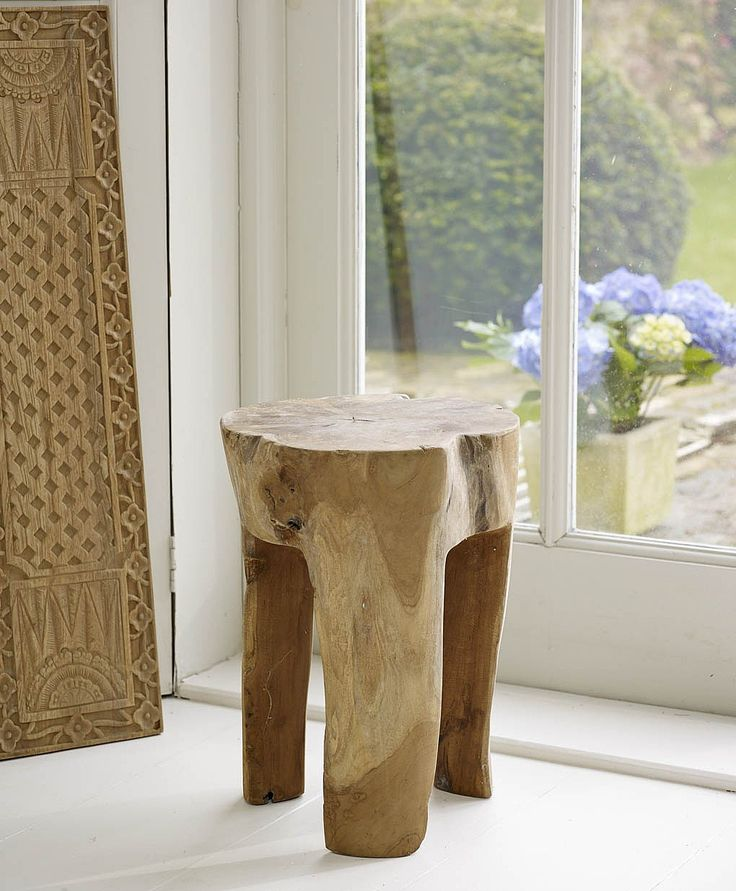 Lombok Teku Stool from Lombok