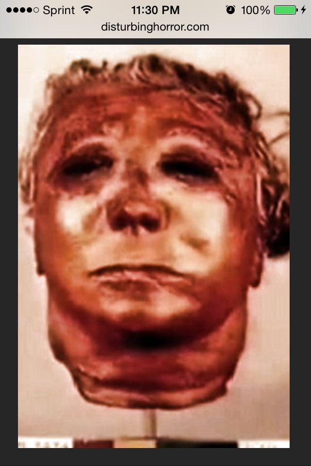 Ed Gein S Skin Mask The Real Leather Face Ed Gein