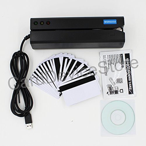 MSR605X is a new model of magnetic stripe card reader writer. Compared to the popular model MSR605 MSR605X doesn't require...