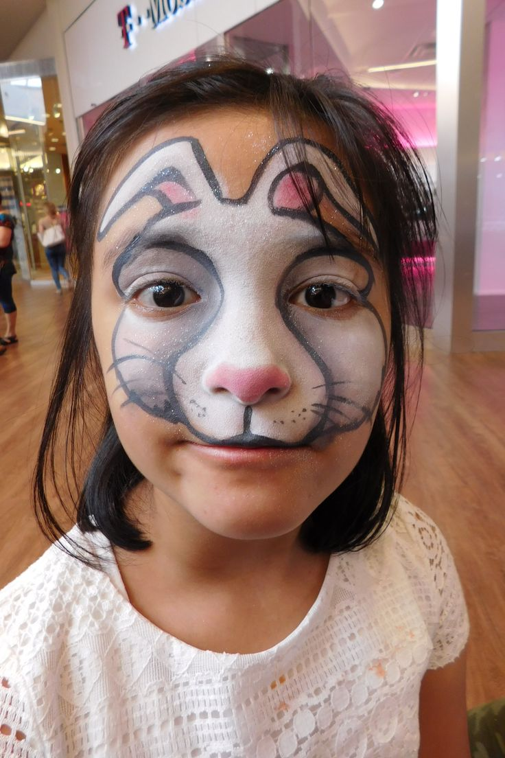 Uncategorized Bunny Nose Face Paint 77 best party picassos face painting images on pinterest white bunny rabbit by 312 316 7819