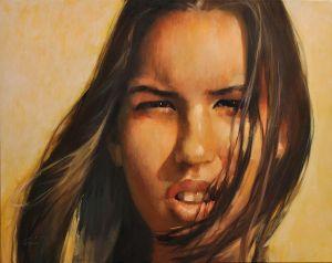 Desert Rose (oil on canvas, 80x110 cm)