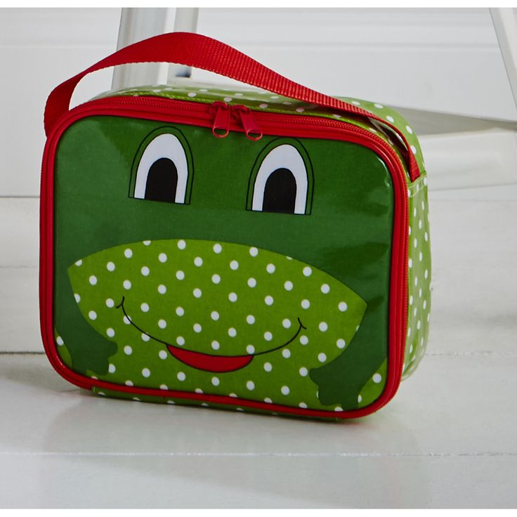 Frog Lunch Bag #frog #quirky #lunch