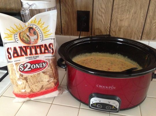 How to Cook a Velveeta Cheese Dip in the Crock Pot Recipe - Snapguide