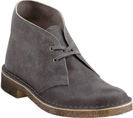 Clarks Desert Boot - Grey Distressed -