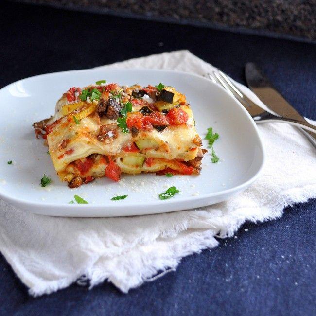 Λαζάνια φούρνου με λαχανικά | InfoKids