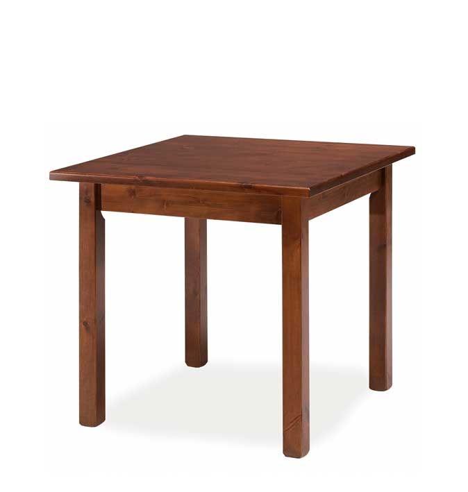 Tavolo rustico in legno massello di pino di svezia in for Tavolo rustico legno