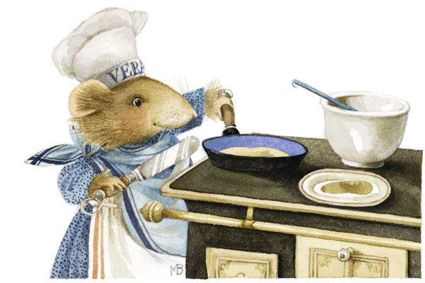 "I love to cook.  ""Marjolein Bastin, Vera"""