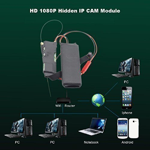 Best price on DIY Mini Hidden Spy Camera Wifi Module Home Security Camera System Wireless Motion Activated Detection on Smartphone Remote Access with Audio Full Hd 1080p Ip CAM Pinhole P2p Dvr Camcorders Digital Video Recorder for Android Ios Iphone See details here…