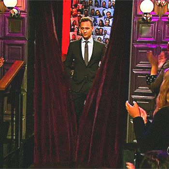 Tom Hiddleston on The Late Late Show with James Corden - April 25, 2016 (Full): http://my.tv.sohu.com/us/230297435/83651345.shtml