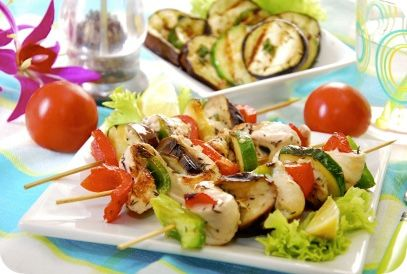 Mediterrane Kipspiesjes | Gezonde Slanke Recepten | Flinndal