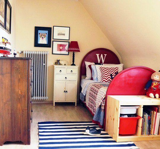 """Before & After: """"Nautical or Nothing"""" Boy's Room"""