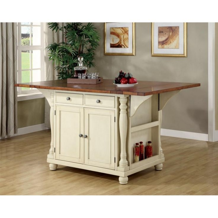 Country Cottage Kitchen Island