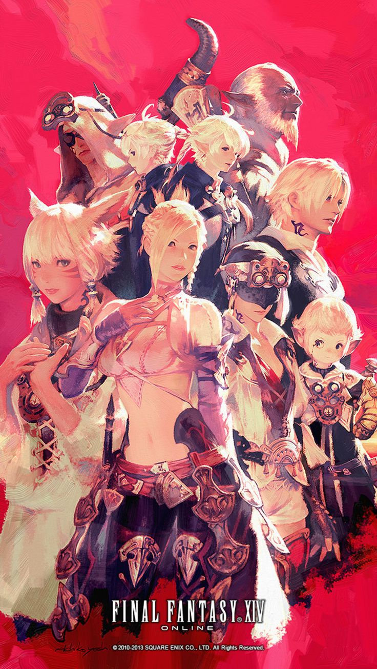 Scions of the Seventh Dawn from Final Fantasy XIV: A Realm Reborn