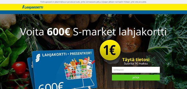 S-Market Lahjakortti Huijaus