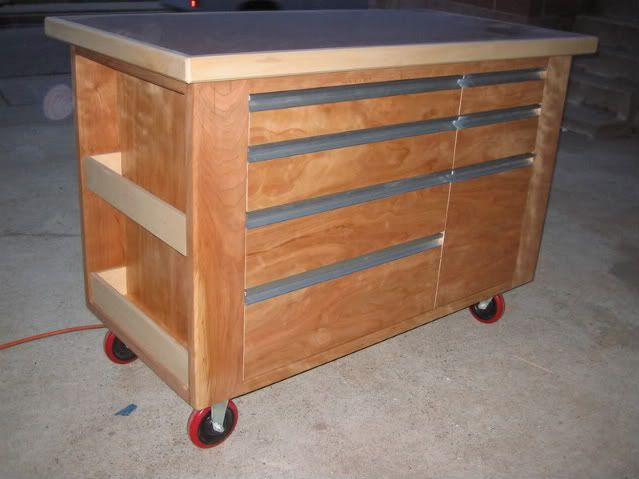 wooden tool box on wheels google search