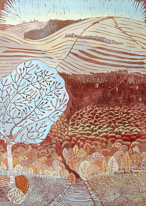 384 Best Woodcuts Linocuts And Prints Images On Pinterest