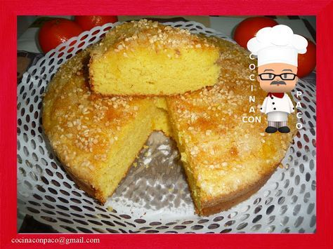 Cocina con Paco: Bizcocho esponjoso de Naranja
