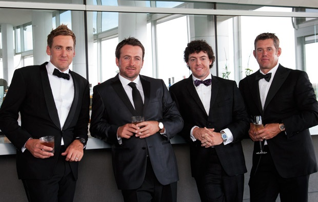 #Golf Digest Cover with Rory Mcilroy,  Lee Westwood, Ian Poulter, and Grame McDowell -Hair by: Kristan Serafino @Krista Newall Serafino #SerafinoSays
