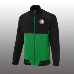 Feyenoord 2017-18 Black Football Jacket [L412]
