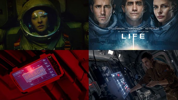 Here is some recent FUI work created for the film Life, by Spov (Dr Strange , Batman - Arkham Knight, Call of Duty: Advanced Warfare, NeuroScouting).  The team at Spov were tasked with designing several different sets of UI.  One for each of the modules that make up the International Space Statio