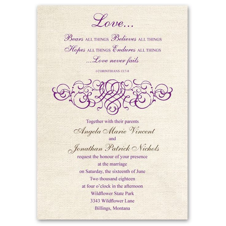 15 best invite wording images on Pinterest | Wedding stationery ...