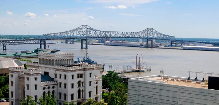 The Embassy Suites Hotel in Baton Rouge, Louisiana