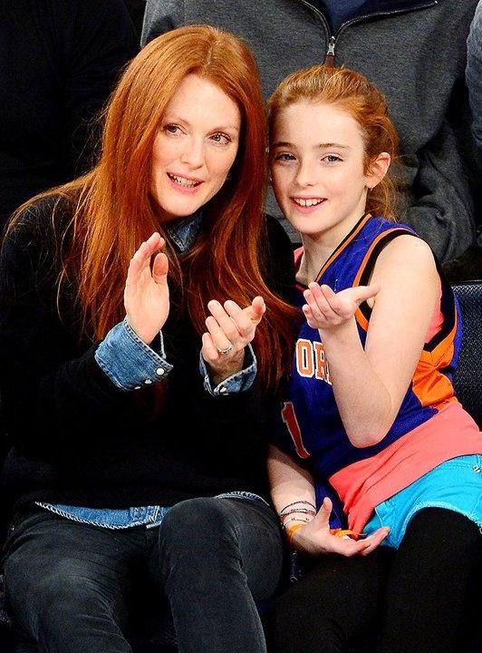 Julianne Moore et sa fille Liv mamans célèbres