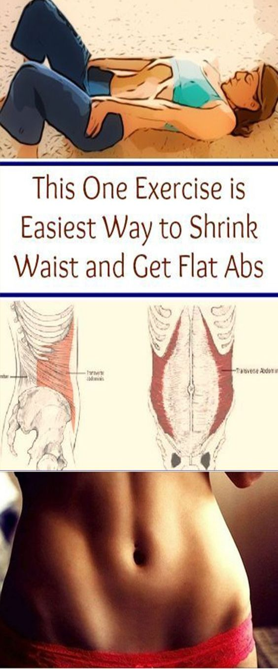 Vacuum in The Belly – Get a Thinner Waist and Flat Stomach With This Simple Exercise