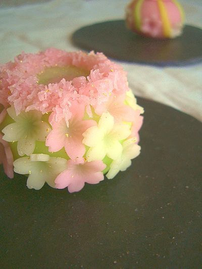 Wagashi - Beautiful Japanese Sweets - almost too pretty to eat!