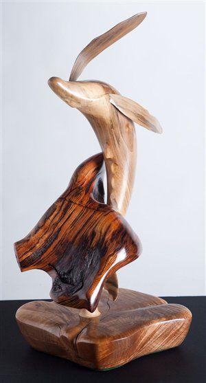 """Breaching Whale"" by Virgil R. Krueger"