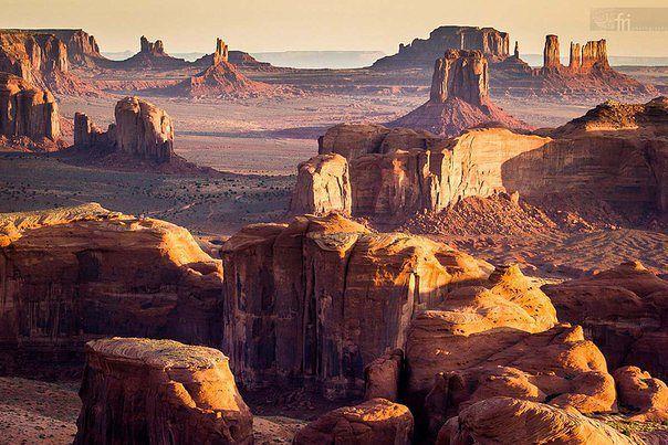 Долина монументов, США