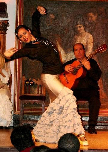 Anabel Veloso -tablao flamenco