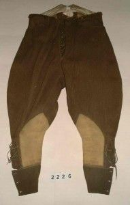 Officer's Riding Breeches c1914.