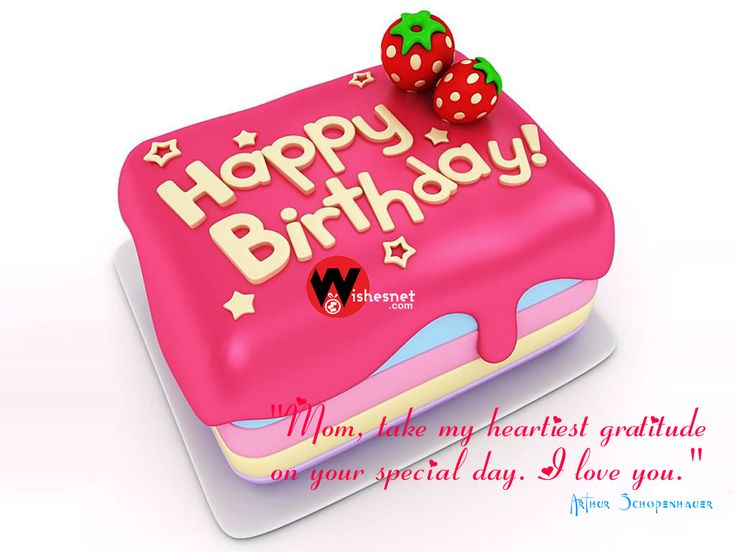 Happy Birthday Wishes Cakes For Mom Free Download