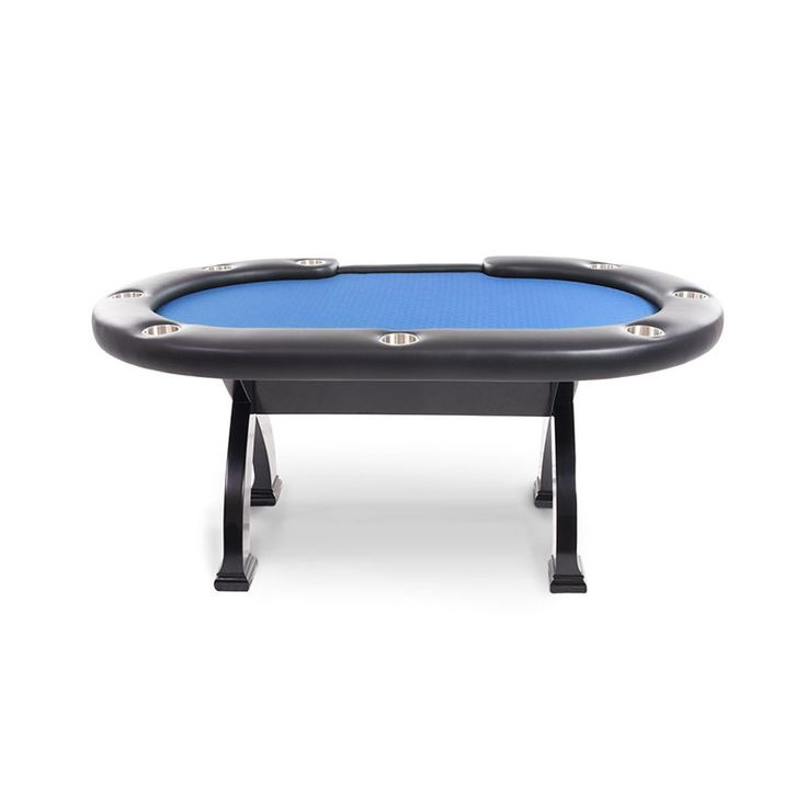 BBO Poker Tables Casino X2 Mini Poker Table with Dining Top - 8 Players