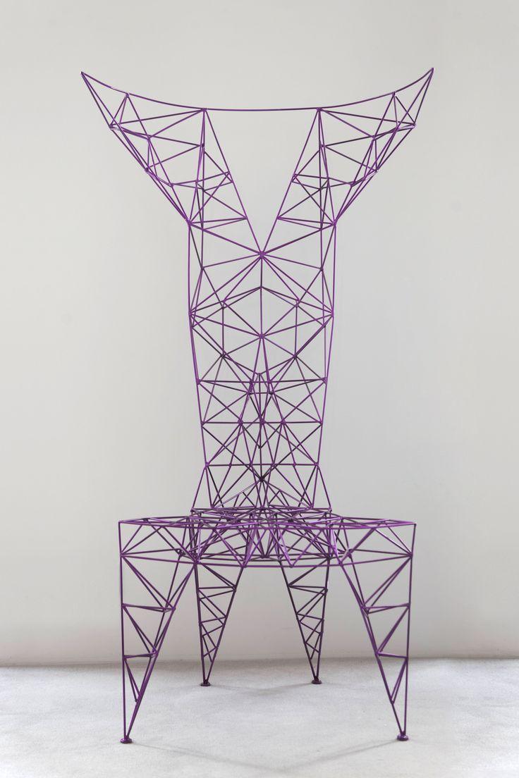 """Pylon Chair"" Tom Dixon"